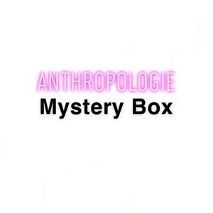 7 Piece Anthropologie Mystery Box